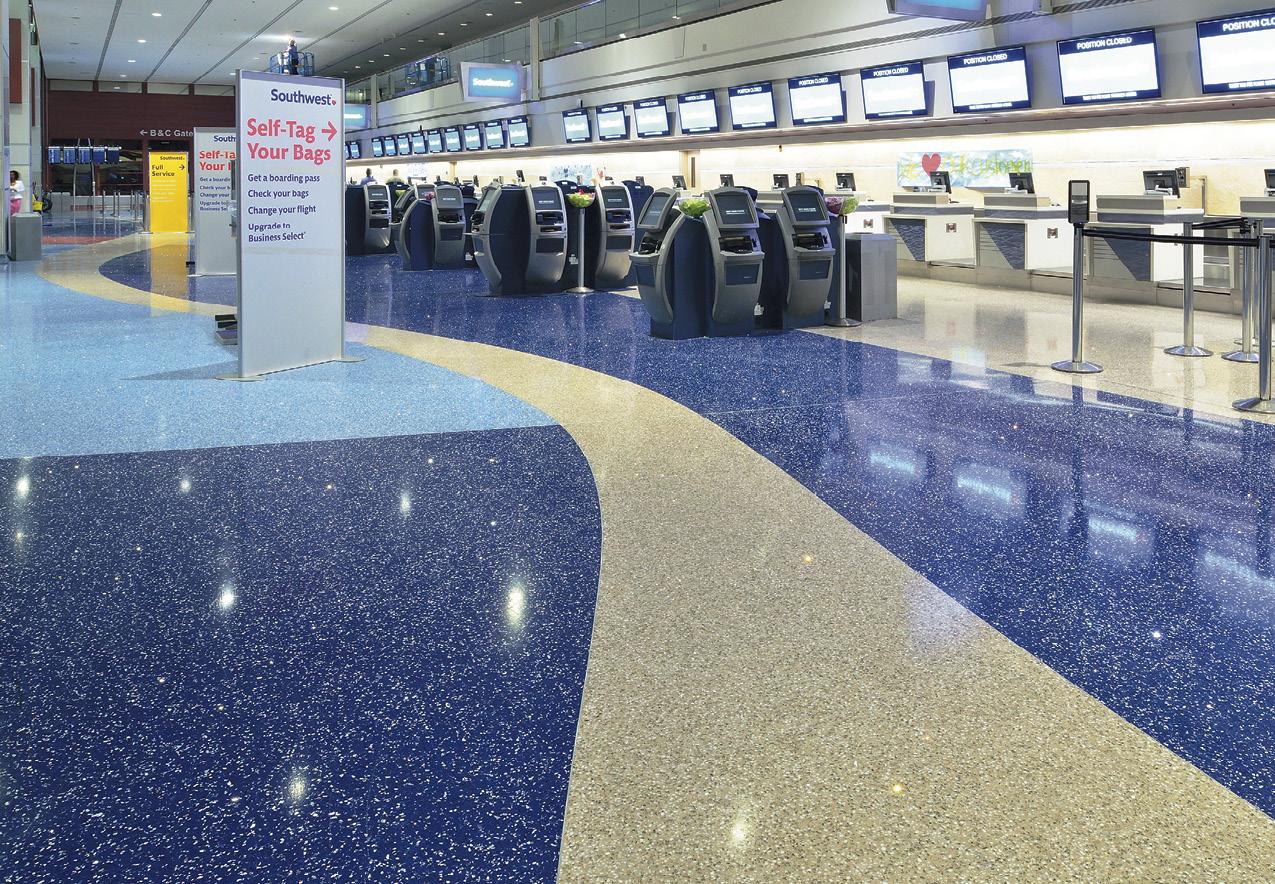 机场车站橡胶地板