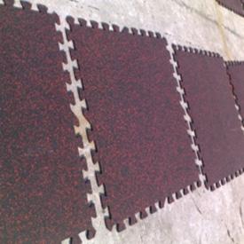 锁扣式橡胶地板