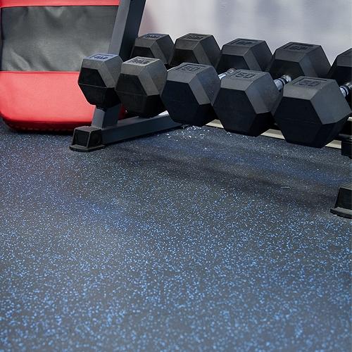 健身房隔音减震地板案例