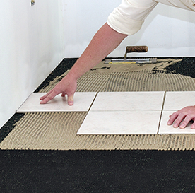 Floating floor slab sound insulation rubber pad