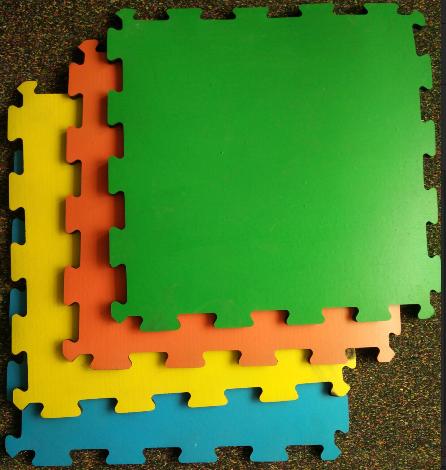 橡胶安全地砖