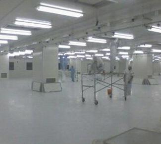 上海新康电子厂无尘车间保洁