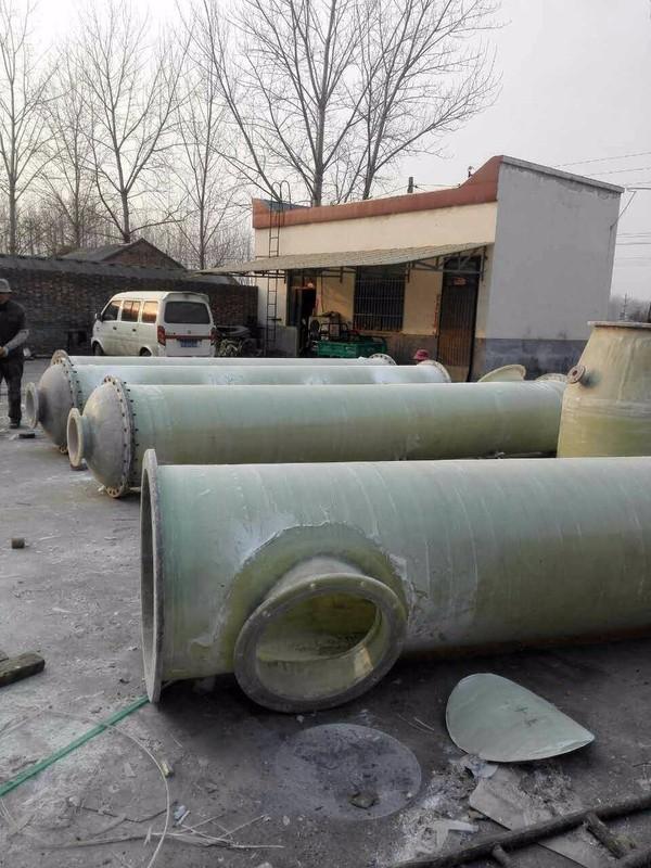 新乡某化工厂氨气吸收塔顺利交货1