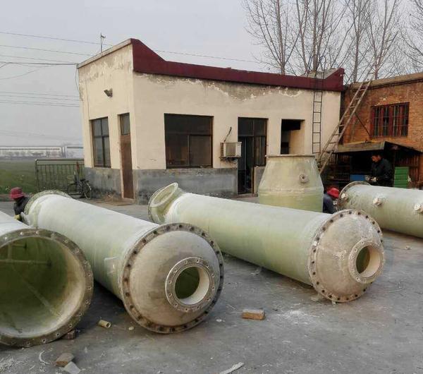 新乡某化工厂氨气吸收塔顺利交货
