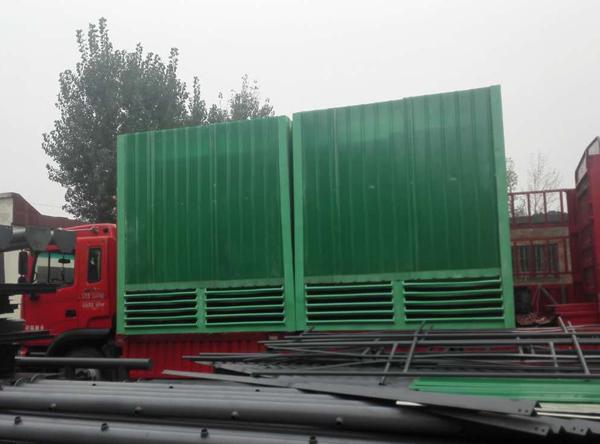 新乡市原阳县某铸造公司玻璃钢冷却塔发货