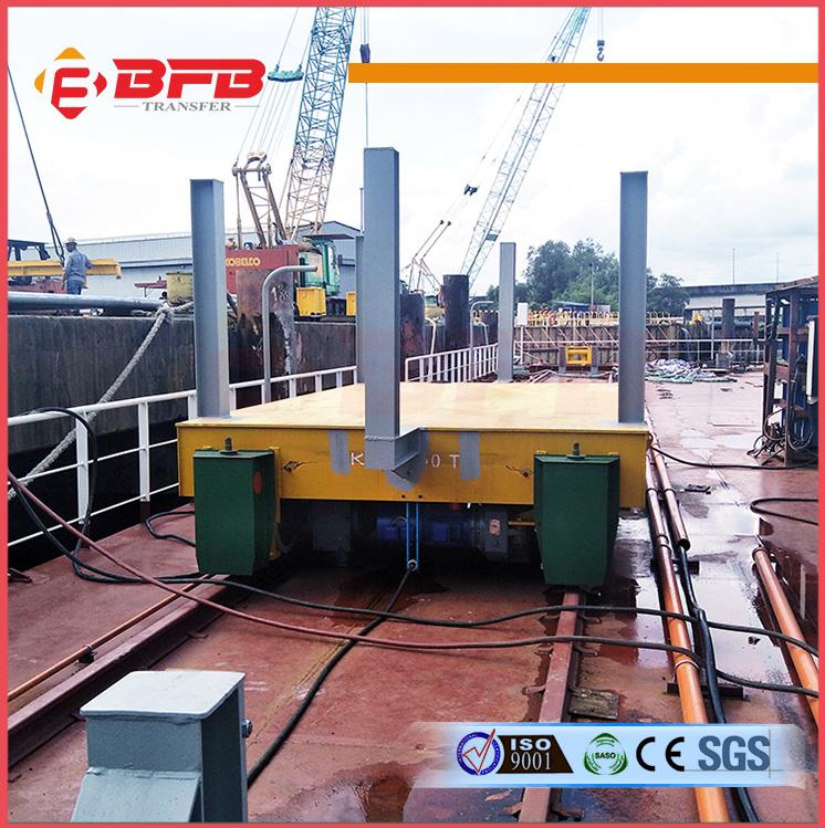 KPJ-40t电缆卷筒轨道平车