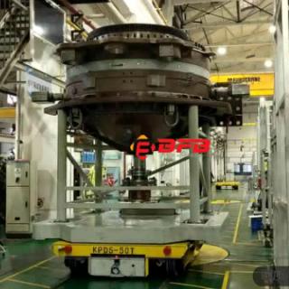 kpds-50t低压轨道电动平车现场视频