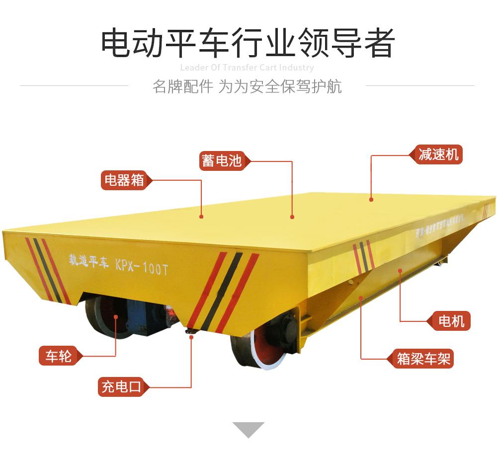 KPX-100t蓄電池電動平車