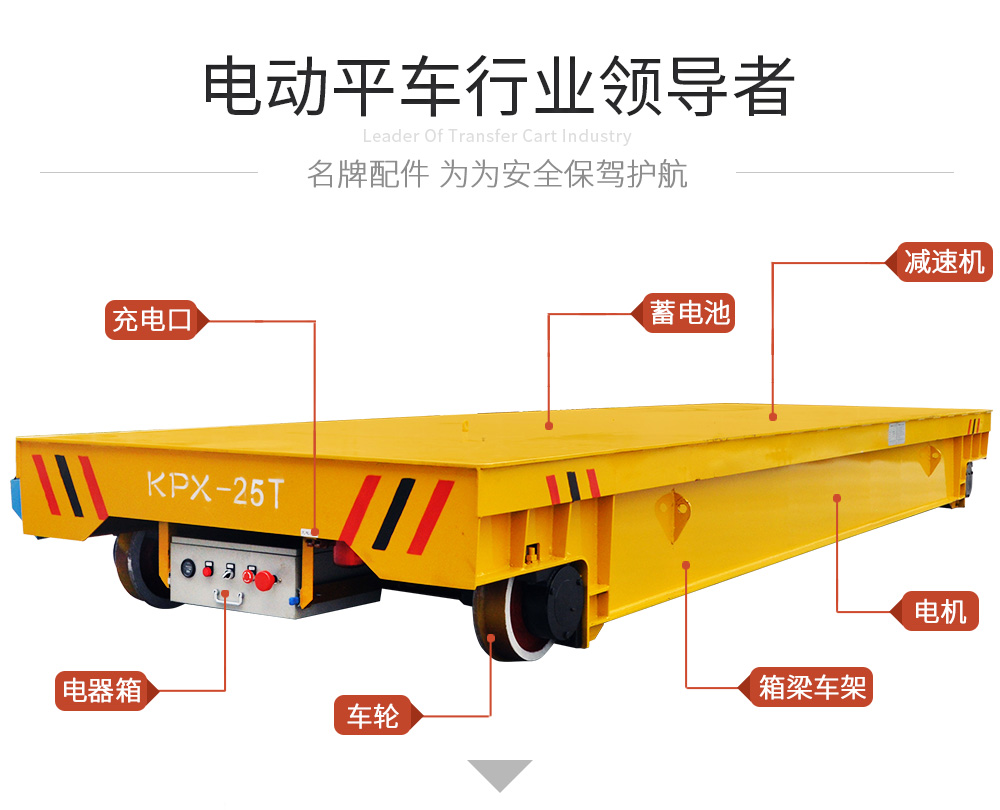 KPX-60t蓄电池电动平车