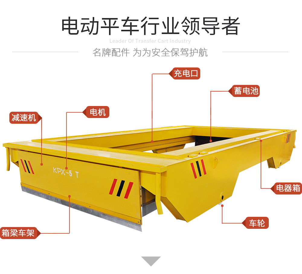 KPX-5t蓄电池轨道平车