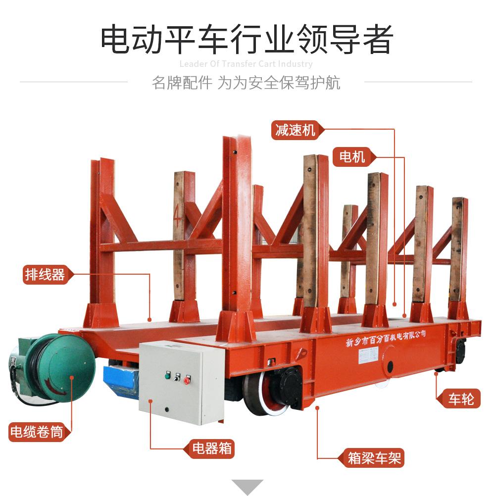 KPJ-50T帶支架電纜卷筒電動平車