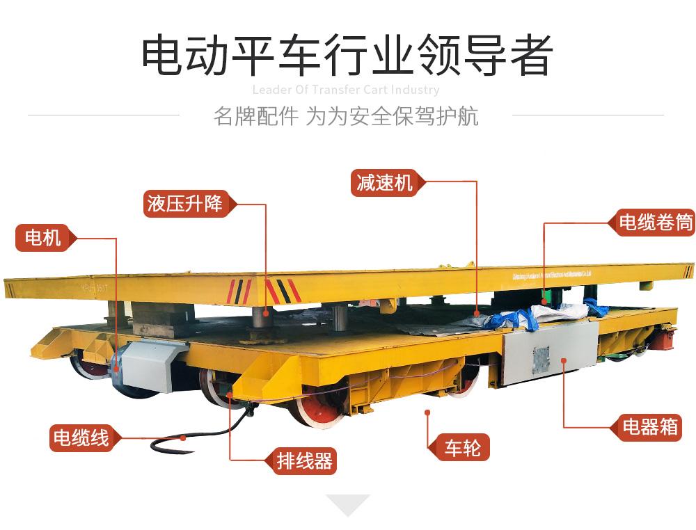KPJ-40t電纜卷筒軌道平車