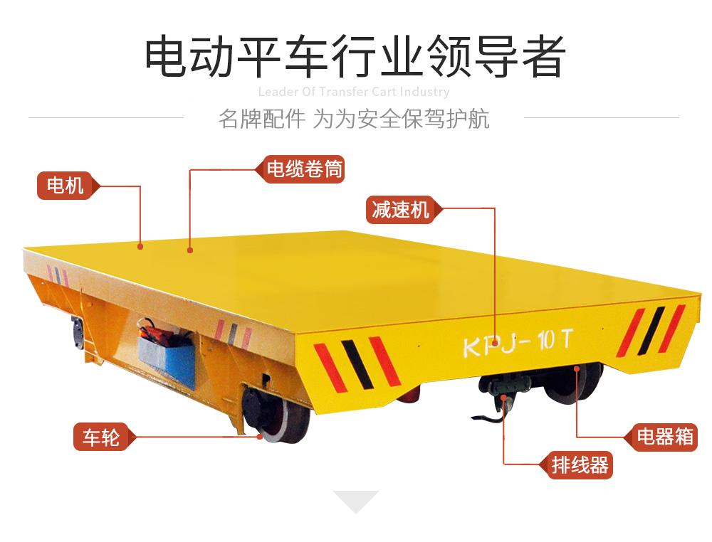 KPJ-10T电缆卷筒电动平车