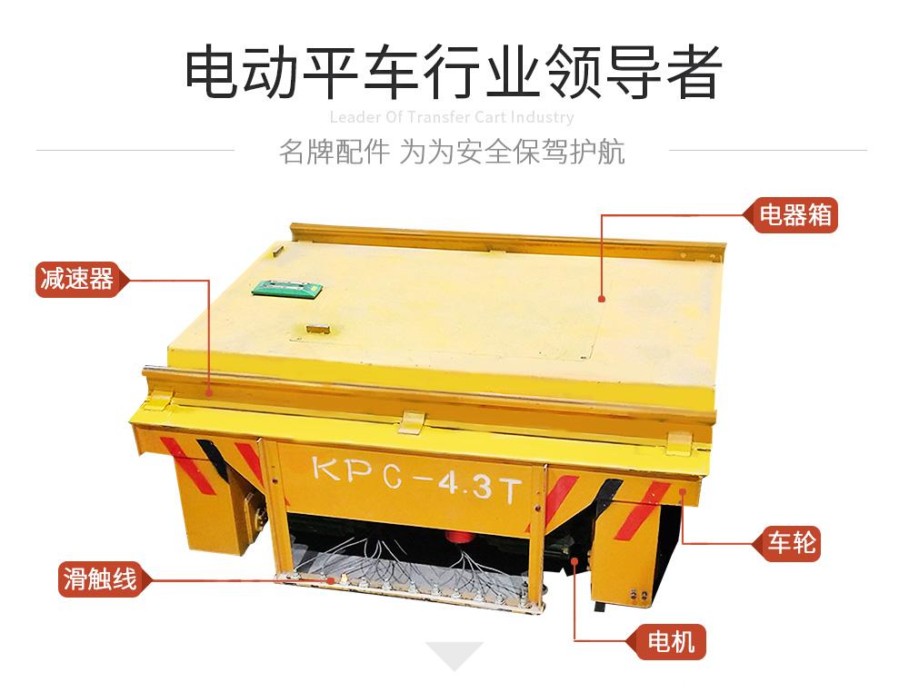 KPC-4.3T滑触线电动平车