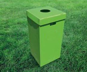 垃圾箱行业应用