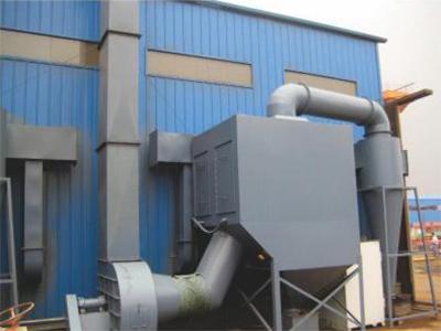 风力回收式喷砂房设备
