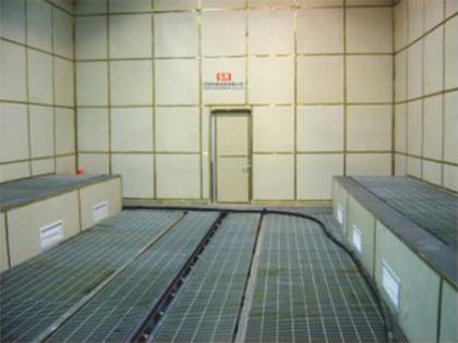 机械回收式干喷砂房设备