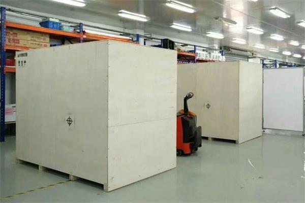 出口设备木箱