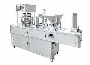 JQF-4咖啡胶囊片膜灌装封口机
