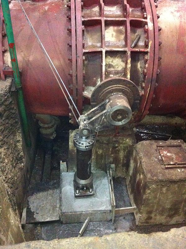 水轮机进水阀改造