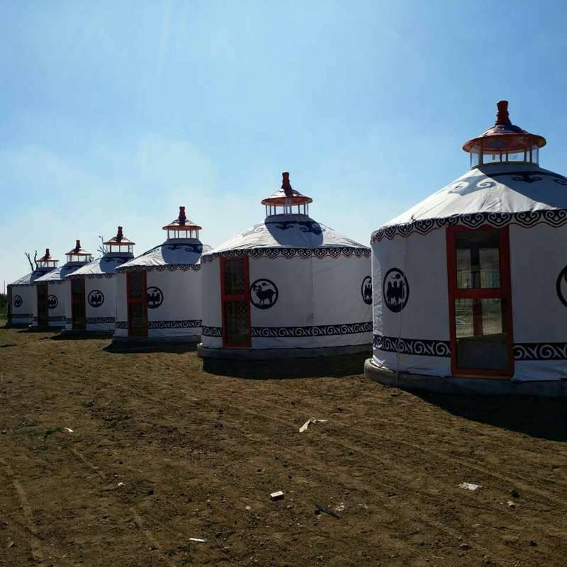 钢塑住宿蒙古包