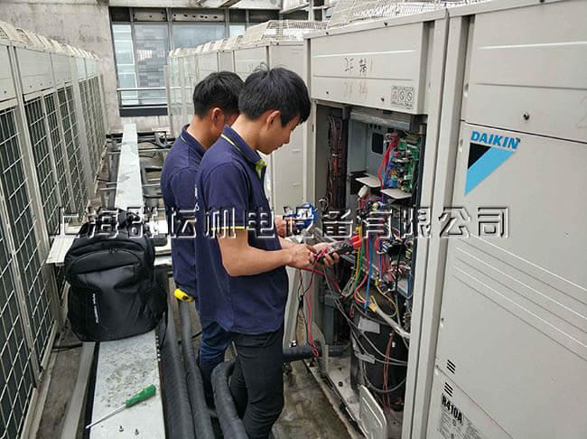 上海群坛销售工程师深入约克中央空调生产基地考察学习