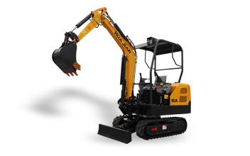 小型挖掘机(橡胶履带)