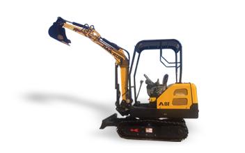 小型挖掘机(铁皮履带)
