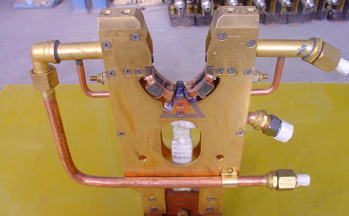 曲轴轴颈淬火感应器