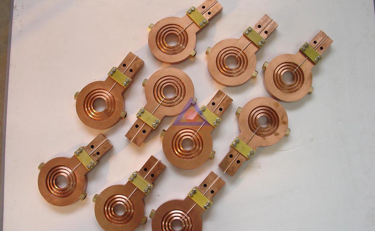 轴类淬火感应器
