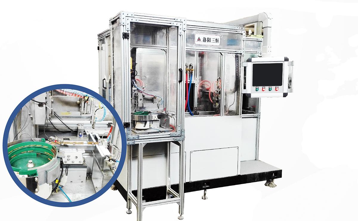 插接件接触体全自动感应热处理设备