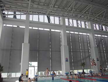 昆山游泳馆—电动卷帘