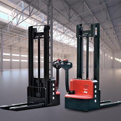 杭州叉车—A系列1-1.2吨迷你型双柱托盘堆垛车