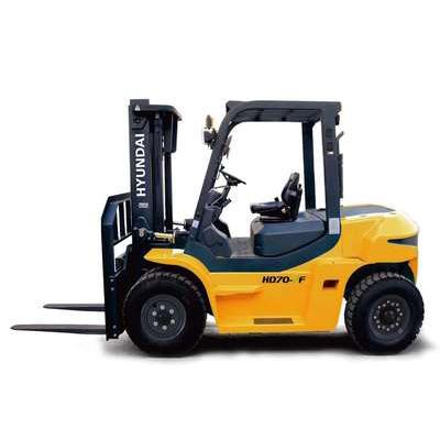 4-7噸現代內燃平衡重式叉車