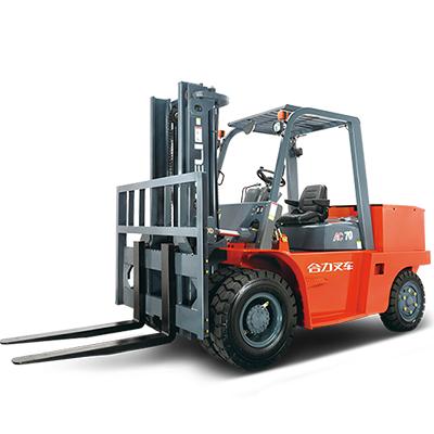 合力叉车- 6-7吨H系列蓄电池平衡重式叉车