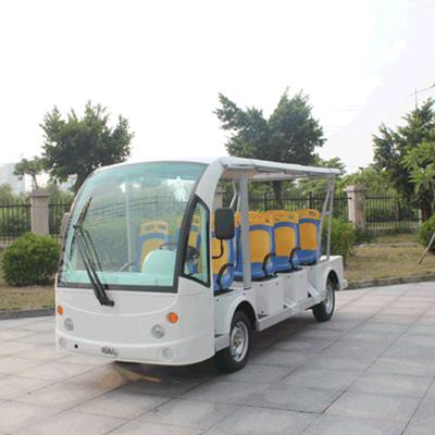 玛西尔电动叉车-电动观光车-清逸11座(DN-11F)