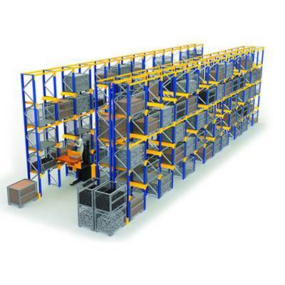 單托盤貨架系統