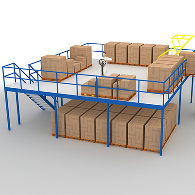 鋼結構閣樓貨架
