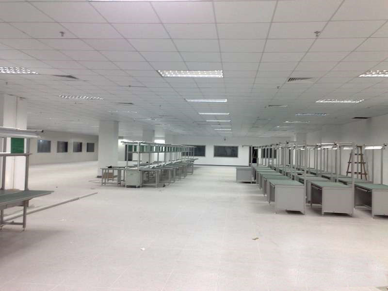深圳工厂装修