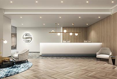 中信能源work使用室装潢案例