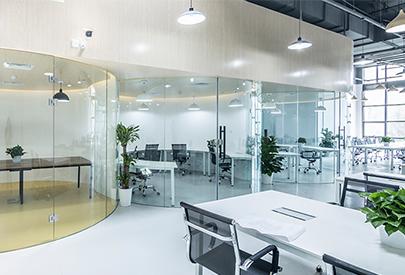 无限空间办公室装修案例