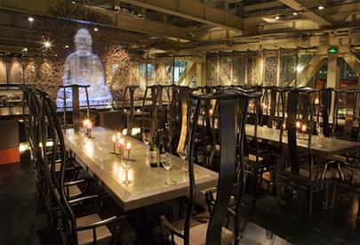 上海德餐厅装潢案例