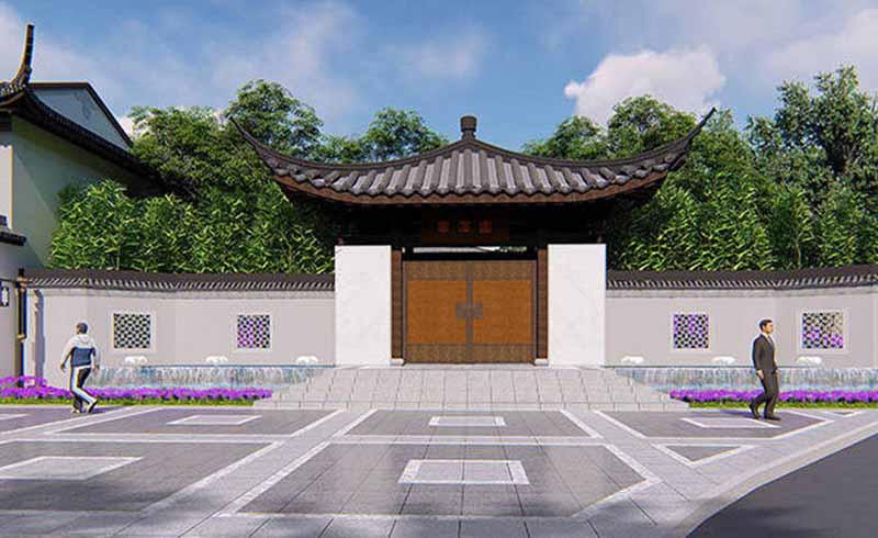 武汉黄陂木兰古道华泽园整体规划设计