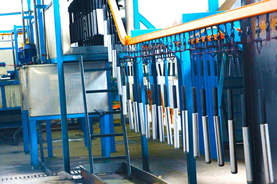 减震器生产过程