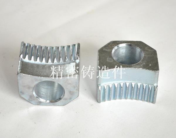 碳钢齿块精铸件