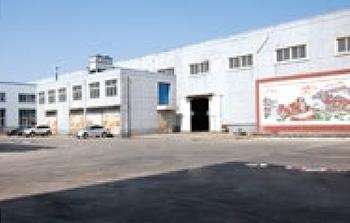 淄博松尚复合材料有限公司衬四氟管道生产车间图