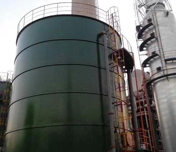 淄博松尚复合材料有限公司施工现场