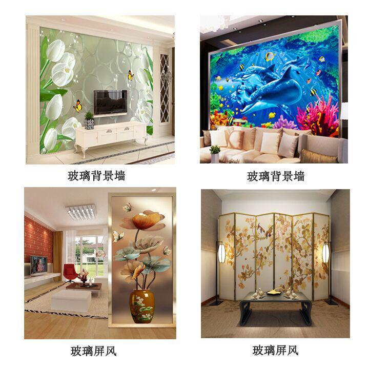 玻璃喷绘机的选择及利润分析