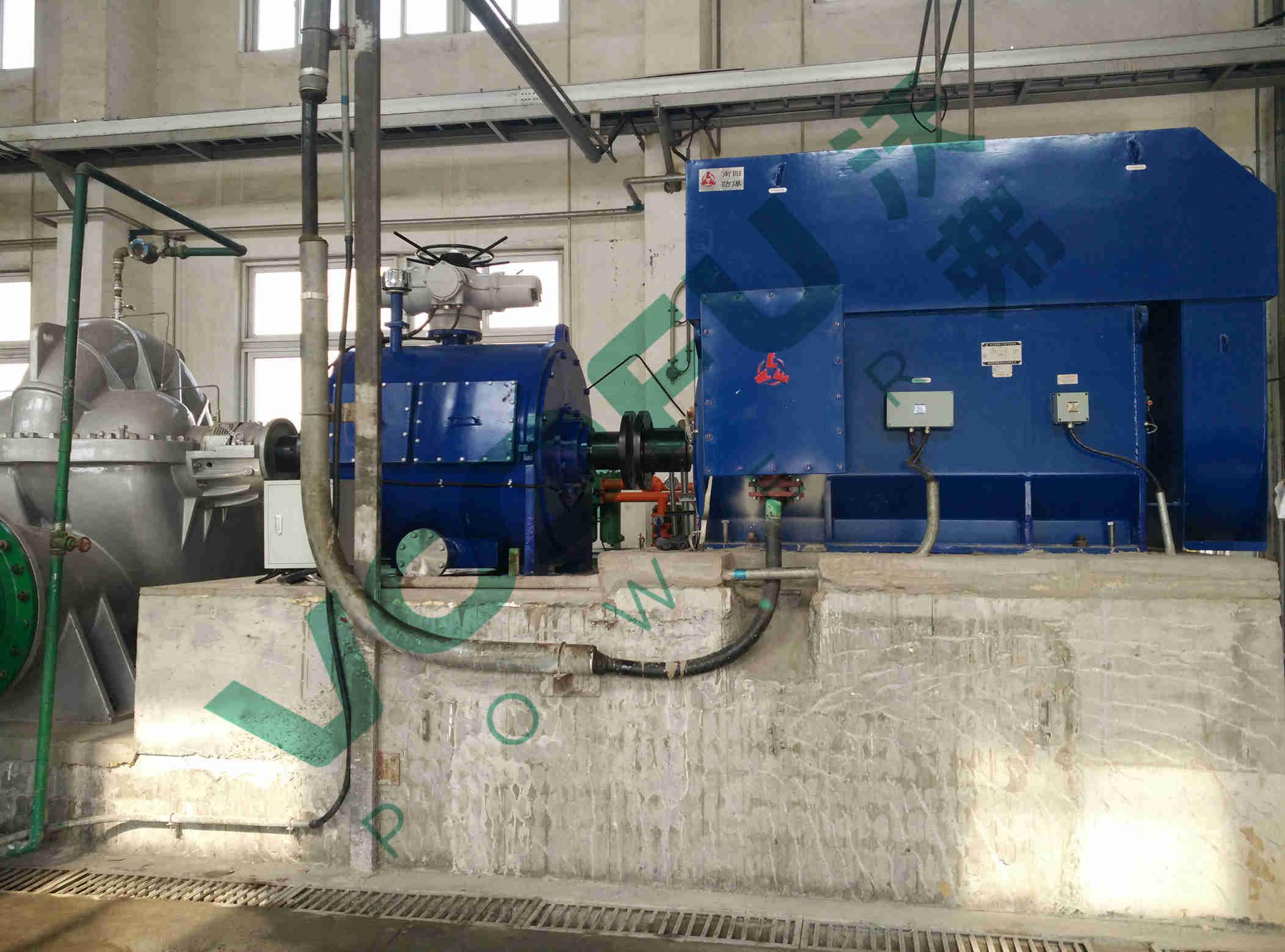 某某石化公司(循环水泵1600kW)