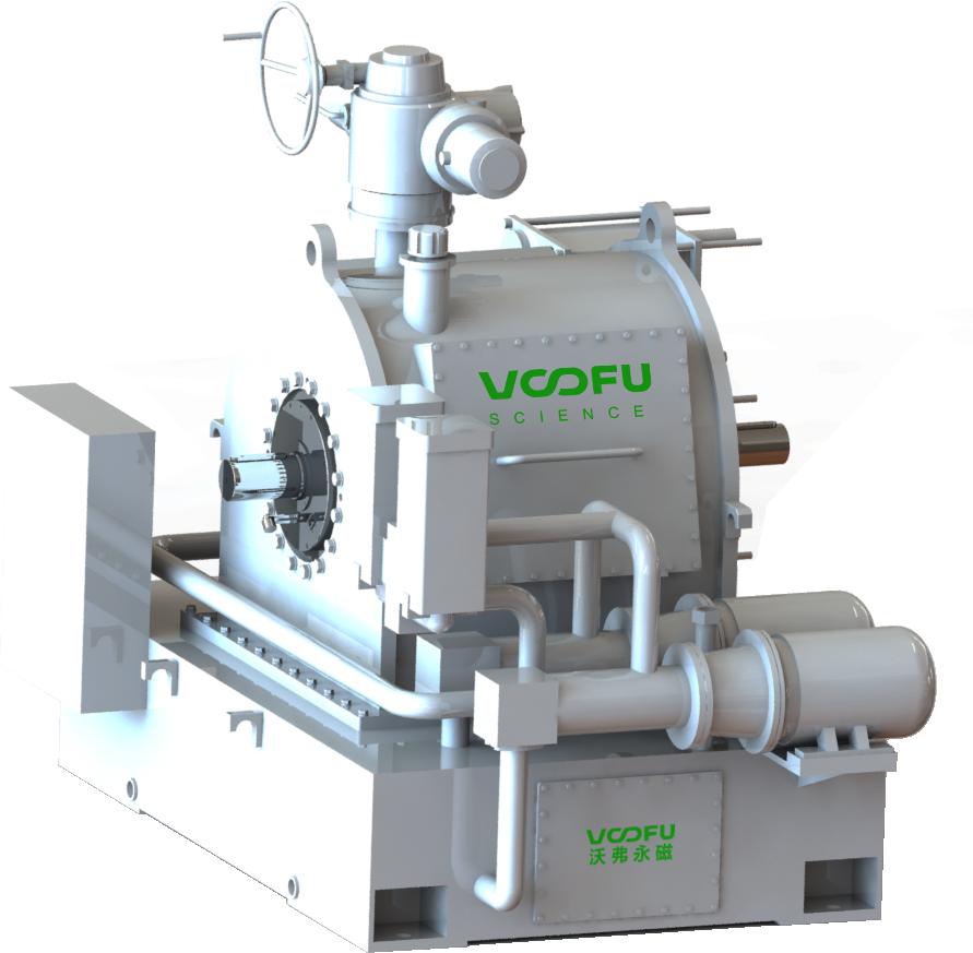 走进电机节能减排技改 集成式油冷型永磁调速器设计